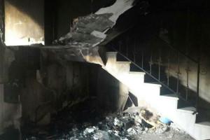 آتش سوزی در پارکینگ منزل مسکونی سه طبقه