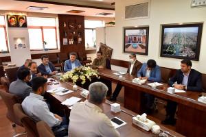 هفتمین کمیته راهبردی پروژه های عمرانی