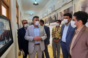 بازدید شهردار از نمایشگاه های دو خانه تاریخی