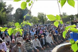 نماز عید سعید فطر در نجف آباد