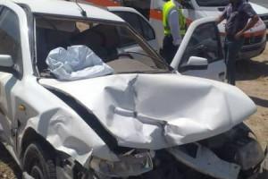 پنج مصدوم در تصادف کمربندی شمالی نجف آباد