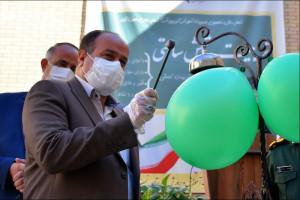 نواختن زنگ آغاز سال تحصیلی و زنگ مقاومت در نجف آباد