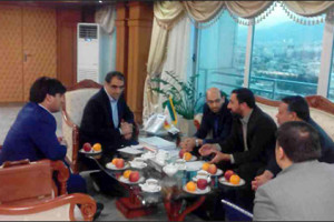 ملاقات مسوولین شبکه بهداشت و بیمارستان نجف آباد با وزیر بهداشت