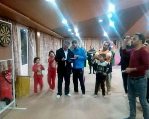 پنج دوره مسابقه دارت خانوادگی ویژه مسافران نوروزی