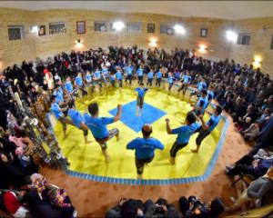 جشن مبعث حضرت رسول اکرم(ص) همراه با اجرای ورزش زورخانه ای