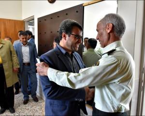 دیدار با فرماندهی جدید نیروی انتظامی نجف آباد