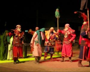 نمایش میدانی در مسیر جاودانگی / شب چهارم / چهارم مهرماه 1398