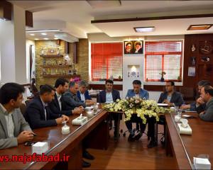 کارگروه پشتیبانی و خدمات شهری شورای پدافند غیر عامل شهرستان نجف آباد