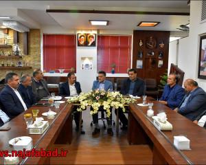 دیدار و تبریک مدیرکل میراث فرهنگی، صنایعدستی و گردشگری استان اصفهان