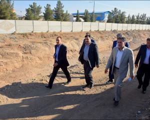 جلسه و بازدید مدیرکل مدیریت بحران استانداری اصفهان