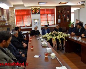 جلسه با مسئولان شهر جوزدان