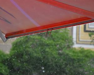 باران بهاری در نجف آباد