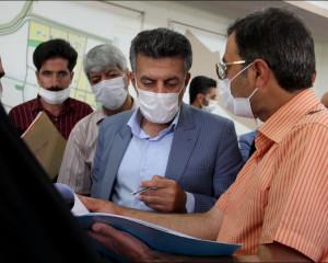 دیدار مردمی منطقه پنج (امیرآباد ) / 16 تیرماه 1399