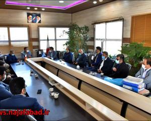 دیدار با ریاست جدید دادگستری نجف آباد