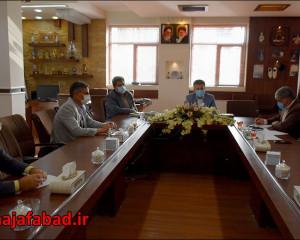 جلسه هماهنگی ستاد خدمات سفر شهرستان نجف آباد