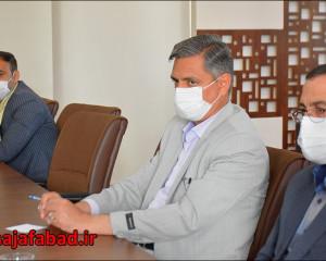 کارگروه پشتیبانی و خدمات شهری شورای پدافند غیرعامل شهرستان نجف آباد