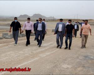 جلسـه و بازدید کشتـارگاه صنعتی نجف آباد