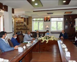 جلسه با مدیرکل کانون پرورش فکری استان