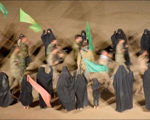 نمایش میدانی در مسیر جاودانگی در نجف آباد / پنجم مهرماه 1400