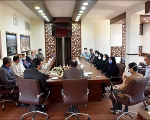 دیدارهایی به رنگ تبریک پرسنل شهرداری نجف آباد