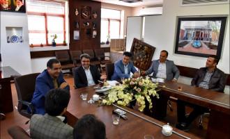 دیدار با مجموعه امور آبفا منطقه نجف آباد