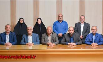 هشتمین جلسه رسمی شوراي اسلامي شهر نجفآباد