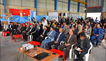 آیین افتتاحیه نمایشگاه توانمندی ها و محصولات کشاورزی