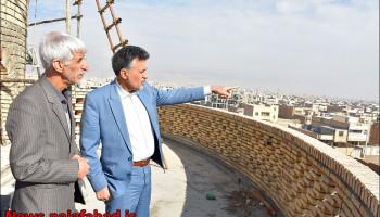 بازدیدعمرانی بهمراه معاون برنامه ریزی برق استان اصفهان