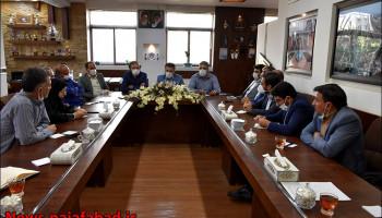 جلسه با قشر بسیج مهندسین شهرستان نجف آباد