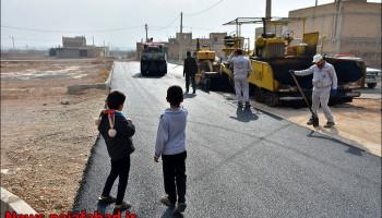 گذری بر بهار آسفالت / کوچه جامی / منطقه پنج