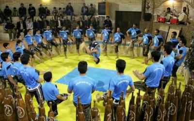اجرای ورزش پهلوانی و زورخانه ای / جشن فتوت / فیلم