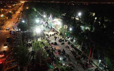 احیای لیالی قدر گلستان شهدای نجف آباد / 25 اردیبهشت