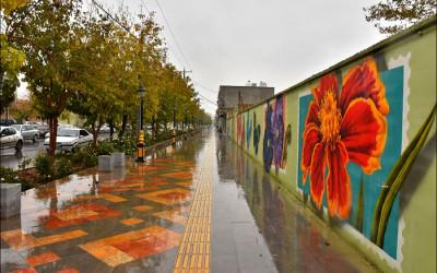 کارت پستالهای بارانی نجف آباد9999