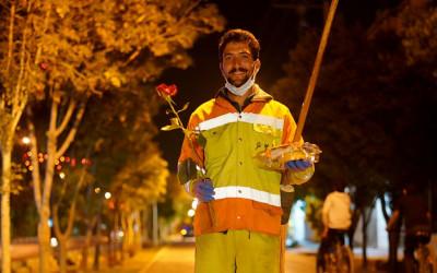 قدردانی از پرسنل شب زنده دار مدیریت شهری