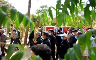 تشییع و خاکسپاری شهید محمد عباسی فر (جانباز معزز 8 سال دفاع مقدس)