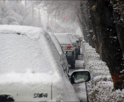 بارش برف در منطقه پنج (امیرآباد)