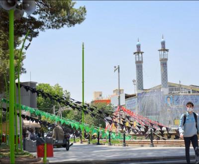 گذری در شهر نجف آباد / به رنگ مناسبت
