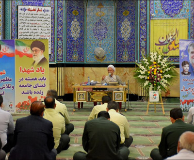 بزرگداشت شهید حاج احمد پور عبداله (جانباز و آزاده هشت سال دفاع مقدس)