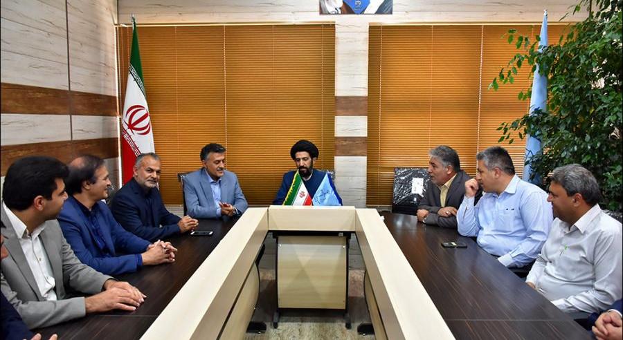 دیدار با ریاست دادگستری و دادستان نجف آباد