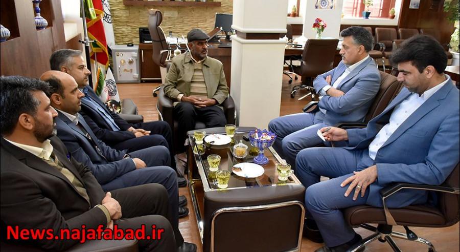 جلسه با ریاست بنیاد شهید
