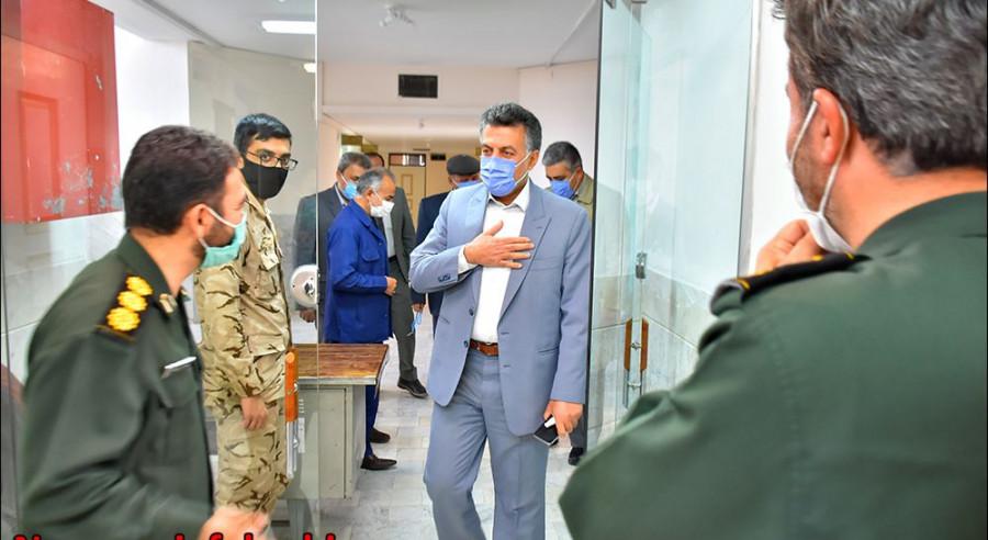 دیـدار با فرماندهی ناحیه مقاومت بسیج نجف آباد بمناسبت هفته بسیج