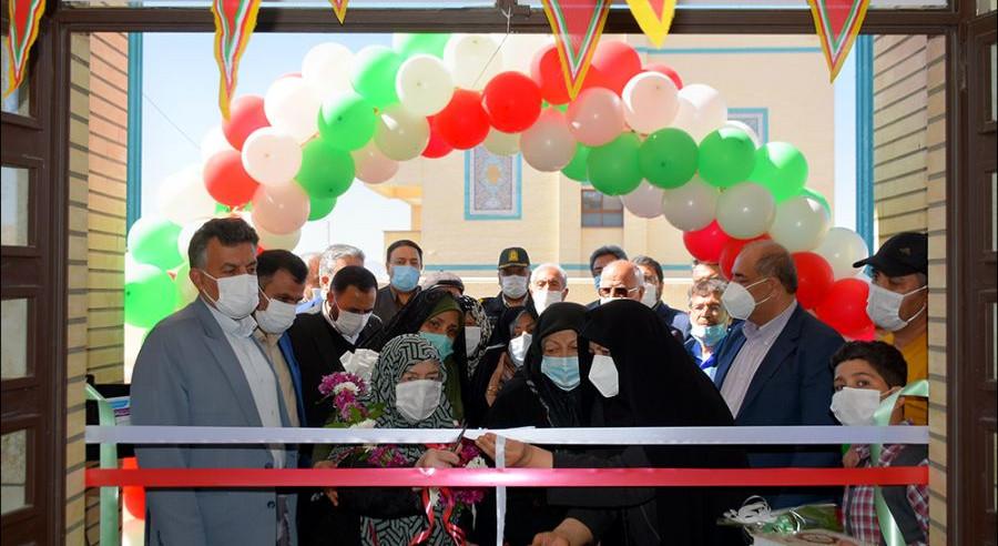 افتتاح مدرسه خیرساز ایران فاضل در نجف آباد