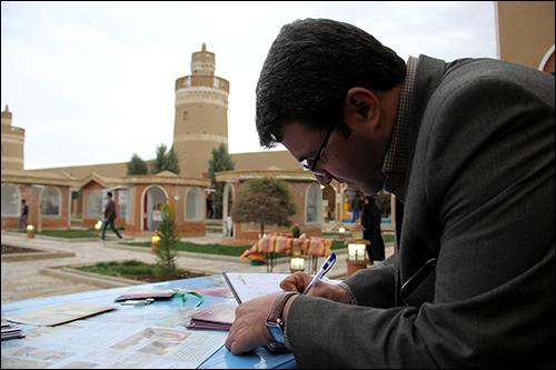 مهندس مسعود منتظری شهردار نجف آباد طی مصاحبه با خبرنگار پایگاه خبری شهرداری