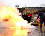 کارگاه آموزش آمادگی و ایمنی در برابر حوادث آتش سوزی