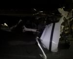 کشته و زخمی شدن دو جوان در حادثه تصادف خودرو