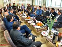 بازدید مدیریت شهری از هنرستان پارسا