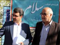 حرکت کاروان 700 نفره دانش آموزان سال اولی در خیابانهای نجف آباد