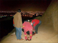سقوط از کوه مرگ دختر جوان را رقم زد