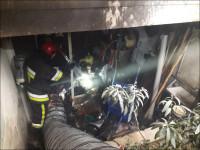 برشکاری سبب آتشسوزی منزل مسکونی در نجف آباد شد