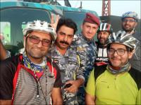 رکابزنی عشاق اربعین از نجف آباد / العماره /الفجر